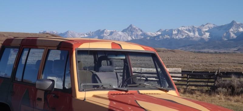 Mitsubishi 4x4 offroad montero