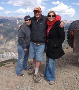 Diane Devin, Lynda Kluck and Clay!