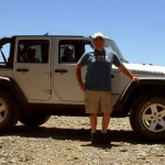 John and his JK Jeep on Kendall Mountain 4x4 road