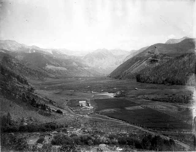telluride valley floor, mountain village, ski area then