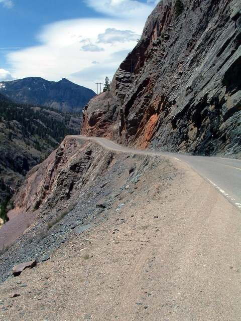 million dollar highway the ruby wall