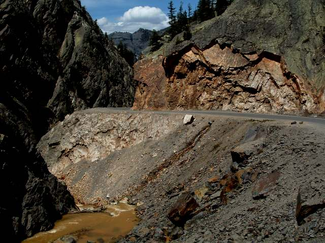 million dollar highway cliff hanger Again