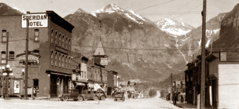 Telluride Colorado and the New Sheridan