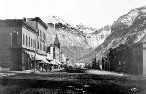 Telluride Colorado and New Sheridan Hotel