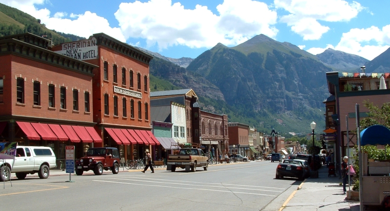 New Sheridan Hotel, Telluride Colorado