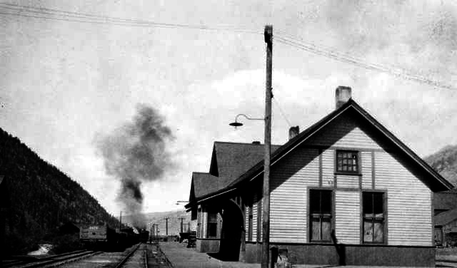 Telluride colorado Railroad Depot