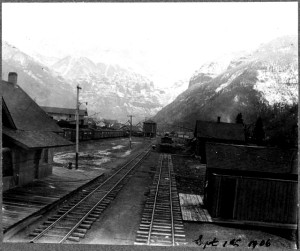 Telluride Railroad Depot east