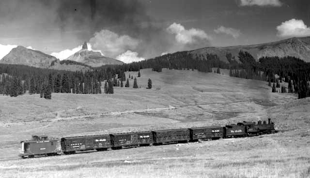 D&RGS Railroad lizard head pass Colorado