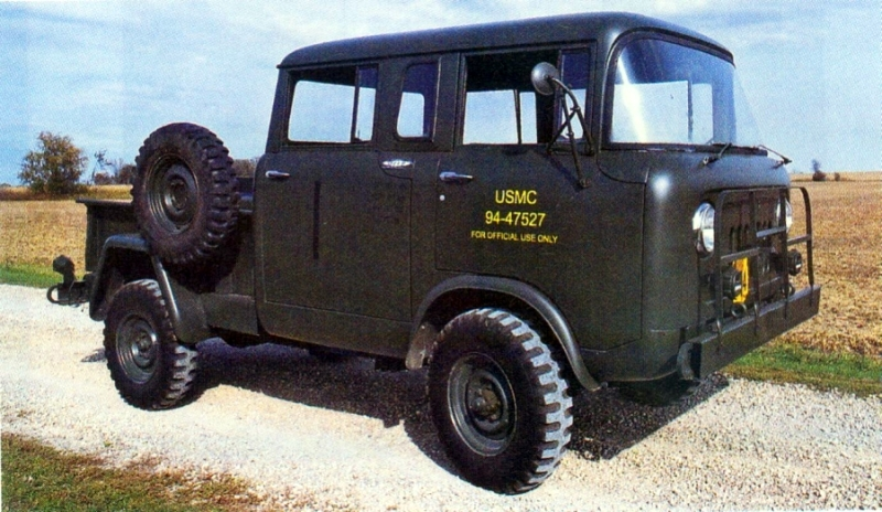 Jeep Fc Military M 677 Crew Cab Cerlist Diesel Alpine