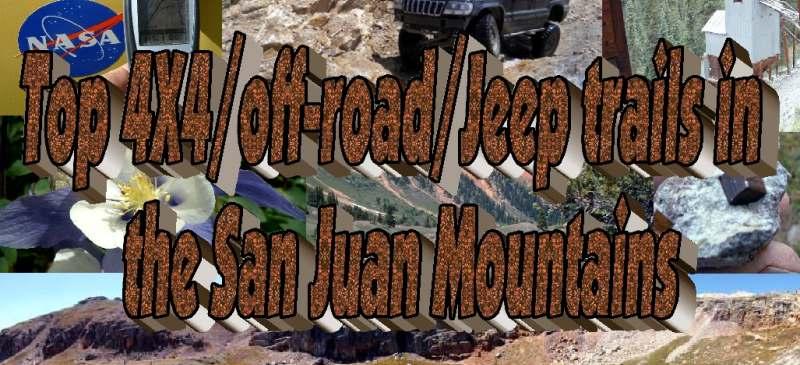 4x4 offroad jeep trails