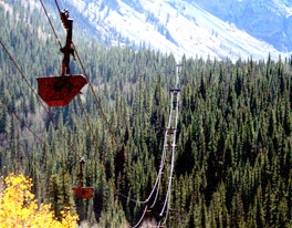 The Mayflower Tram Line near Silverton Colorado!