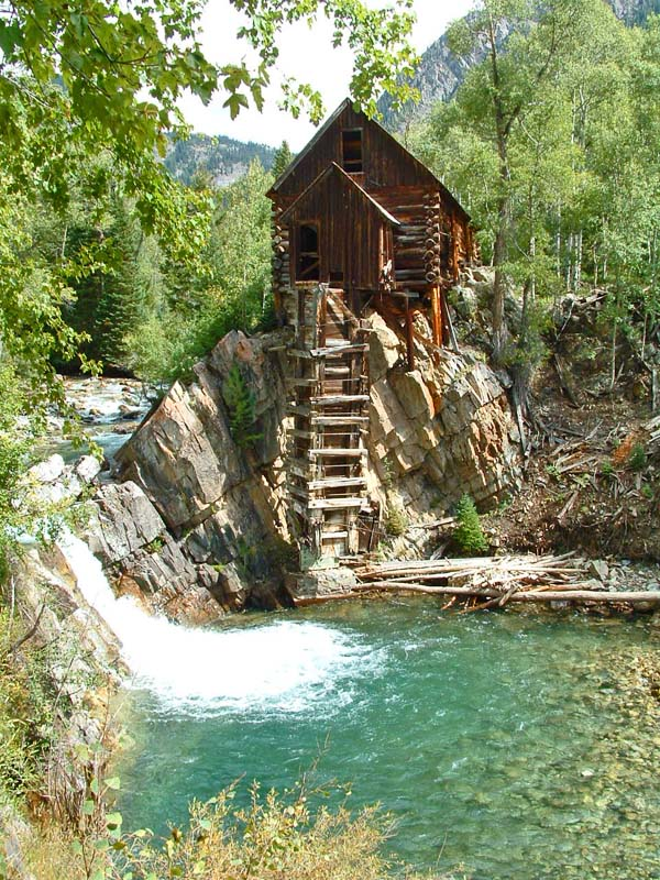The Crystal Mill near Marble Colorado!