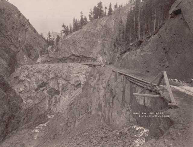 million dollar highway cliff hanger corner