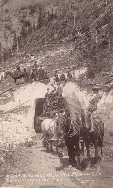 million dollar highway, snow shed